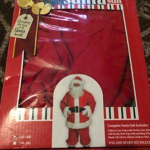 Halco adult regular size Santa suit